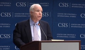 [Video] Maritime Security in the South China Sea with John McCain