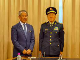 South China Sea Chinas defence minister heads to Brunei Philippines after visits to Malaysia and Indonesia